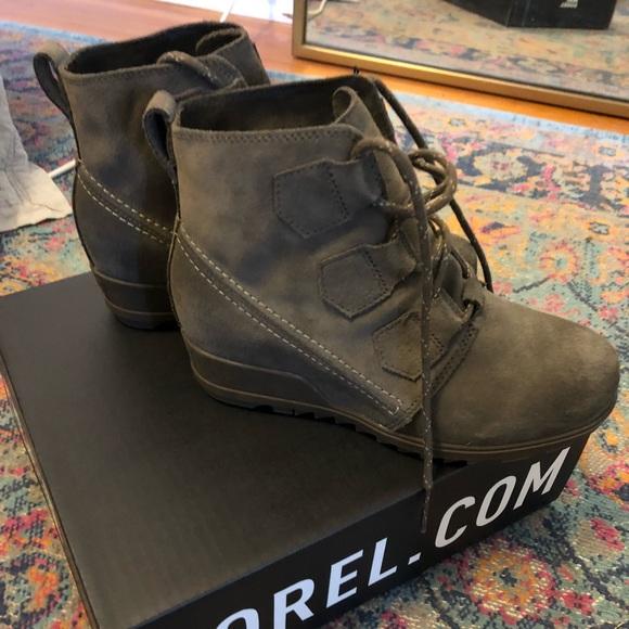 Sorel Shoes | Nib Sorel Evie Lace Boot